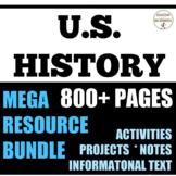 American History Colonies through Civil War & Reconstructi