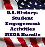 U.S. History - Engagement Activities / Review MEGA BUNDLE!