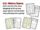 U.S. History Exams for all 12 units: 420 questions in all (SBAC inspired)