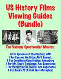 U.S. History Films Viewing Guides (Bundle)