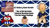 U.S History Game Bundle: War of 1812, Industrial Revolutio