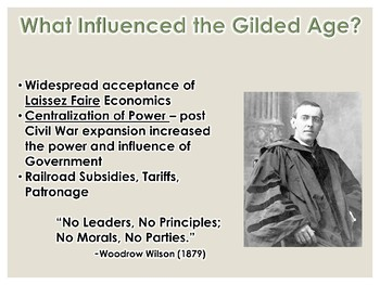 Gilded Age Politics PowerPoint (U.S. History)