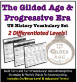 U.S. History: Gilded Age & Progressive Era Vocabulary Set