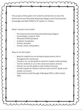 U.S. History Government and Citizenship Guide