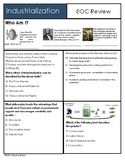 EOC Review U S History Industrialization Review