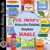 Social Studies Interactive Notebook Bundle: U.S. History