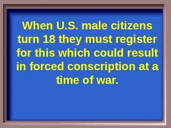 U.S. History Jeopardy Review- Vietnam & Era of Social Change