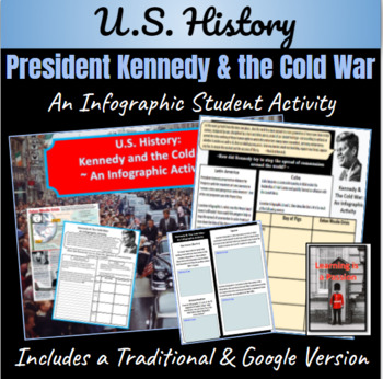U.S. History: Kennedy and the Cold War ~ An Infographic Activity ~