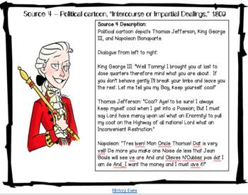 U.S. History Lab- Thomas Jefferson's Presidency