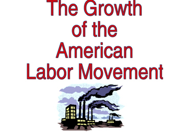 U.S. History Labor Unions/Strikes Power Point Presentation