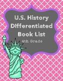 U.S. History Literature List