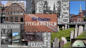 U.S. History Math Trail: The Boston Freedom Trail