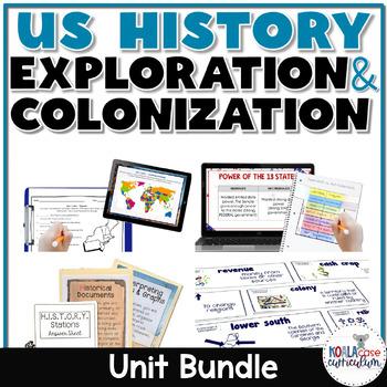U.S. History STAAR Mini-Bundle: Colonization