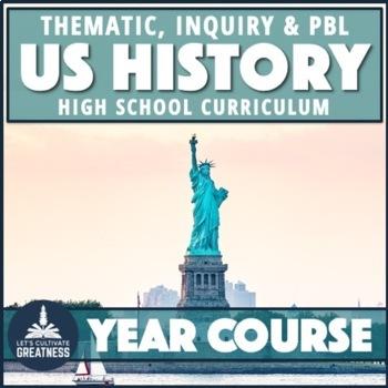 U.S. History PBL Course Mega Bundle