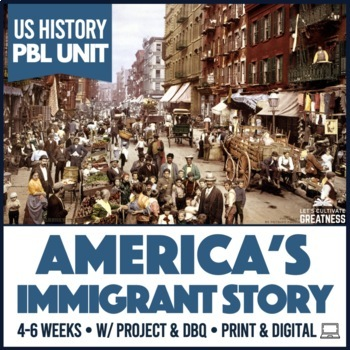 US History Immigration & American Dream PBL Unit