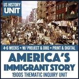 US History Immigration & American Dream PBL Unit
