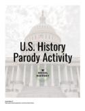 U.S. History Parody Activity with Rubric