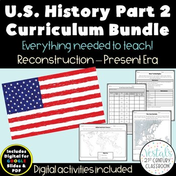 U.S. History Part 2 Bundle {Digital & PDF Included}