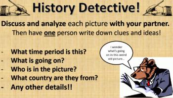 U.S. History Photo Detective Game (Back to school!)
