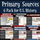 U.S. History Primary Sources: Articles of Confederation to