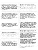 US History Regents Printable Vocabulary Cards: Definitions and Words Separated