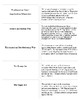 US History Regents Printable Vocabulary Cards: Terms and D