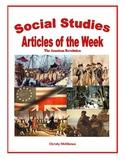 U.S. History, Prior to 1850, Articles of the Week Mega Bundle Pack