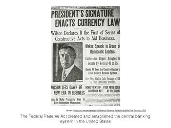 U.S. History Progressive Era Poster Graphic and Image Placards