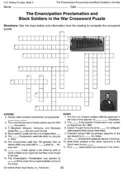 U.S. History Puzzles, Book 2 Grades 5-8 SALE 20% OFF 404246
