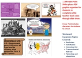 U.S. History - Reasons for Westward Expansion Power Point + Graphic Organizer