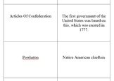 U.S. History Review Flashcards