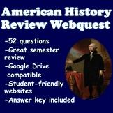 US History Review Webquest