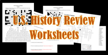 U.S. History Review and Puzzles