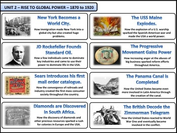U.S. History - Rise to Global Power - Complete Bundle