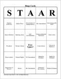 U.S. History STAAR Bingo Ch-1,2,3,4,5.