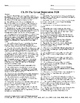 U.S. History STAAR Crossword Puzzle Ch-19: The Great Depre