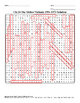 U.S. History STAAR Word Search Puzzle Ch-24: The Sixties-Vietnam 1954-1973