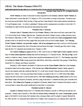 U.S. History STARR Unit Bundle Ch-24,25,26,27.