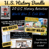 U.S. History Bundle: 40 High-Interest Student Activities