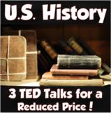 U.S. History TED Talks Mini Bundle