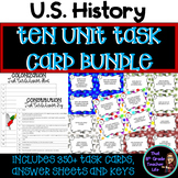 U.S. History Task Card Bundle