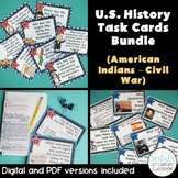 U.S. History Part 1 Task Cards Bundle