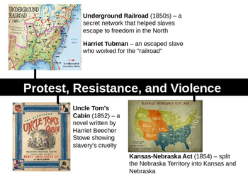 The Civil War PowerPoint Notes