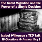 U.S. History- The Great Migration & the Power of a Single Decision (TED Talk)