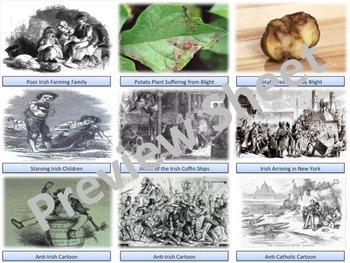 The Irish Potato Famine & Emigration - Homework