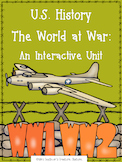 U.S. History - The World at War (WWI & WWII) Interactive S
