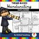 U.S History Theme Based Handwriting Lessons Growing Bundle (Manuscript Edition)