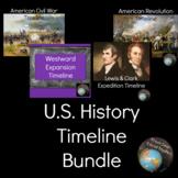 U.S. History Timeline Bundle