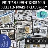 U.S. History Timelines Bundle