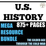 US History Gilded Age through Cold War Teacher Resource Bu